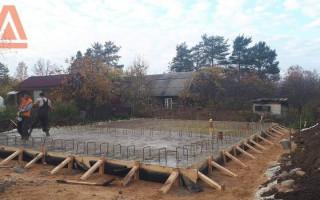 Как подобрать фундамент для дома из газобетона: виды конструкций и особенности их устройства