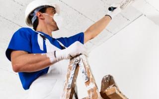 Бетонные потолки: отделка и ремонт