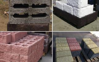 Керамзитобетонные блоки: виды, размеры, область применения