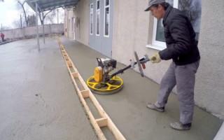 Шлифование бетонных полов