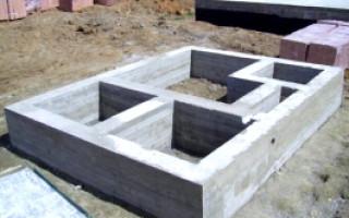 Сборные конструкции из железобетона