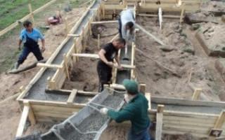 Желобы для транспортировки бетона