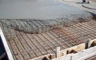 Все этапы бетонирования площадки под автомобиль