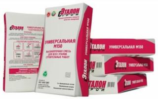 Пескобетон м150: технические свойства и применение