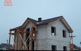 Особенности отделки дома из газобетона