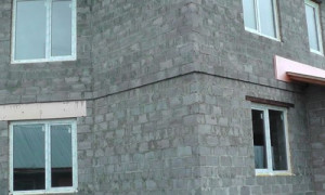 Фундамент под двухэтажный дом из керамзитобетонных блоков