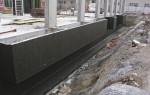 Виды гидроизоляции фундамента, способы выполнения работ