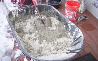 Разница между бетоном и цементным раствором