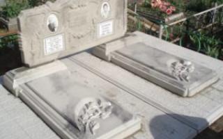 Как сделать памятник из бетона своими руками