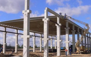 Железобетонные колонны (сборные, ЖБИ, ЖБ): монтаж, изготовление, характеристики
