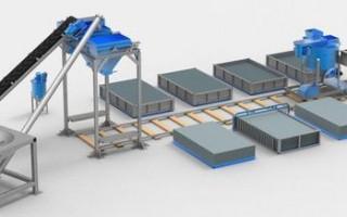 Мини-завод по производству газобетонных блоков — как начать свое дело