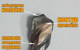 3 способа заточки сверла по бетону