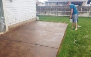 Полимерные краски для бетона