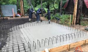 Свайно-ростверковый фундамент для дома из газобетона