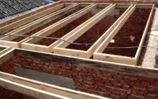 Заливка крыши бетоном: правила и этапы процесса