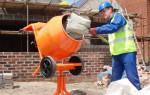 Как замешивать бетон в бетономешалке: пропорции, порядок загрузки, технология процесса