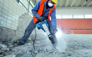 Какие существуют способы демонтажа бетона