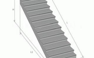 ГОСТ 8717-2016 Ступени бетонные и железобетонные