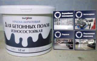 Краска для бетона на улице: плюсы окрашивания и выбор состава, пошаговая инструкция выполнения работ