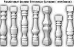 Особенности изготовления и монтажа балясин из бетона