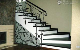 Изготовление железобетонной лестницы — 7 этапов строительных работ