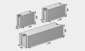 Железобетонные блоки (ЖБИ, ЖБ): маркировка, виды, размеры, плюсы и минусы использования