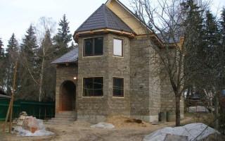 Строительство дома из опилкобетона