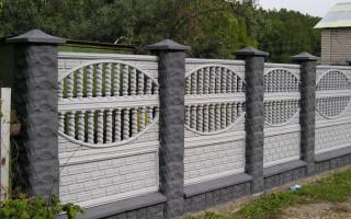 8 советов по выбору и установке декоративных бетонных блоков для забора