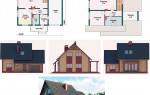 Выбор проекта дома из пенобетона, пеноблоков, газобетона