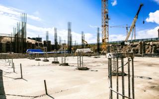 Основные строительные процессы при возведении зданий и сооружений из монолитного бетона