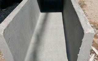Как сделать лоток для подачи бетона