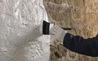 Как снять краску с бетонных стен: 3 основных способа
