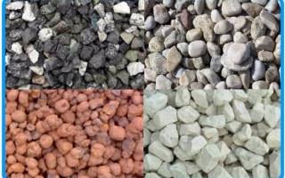 Заполнители для бетона и растворов: что это такое, виды