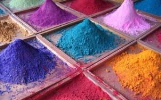 Технология цветного бетона
