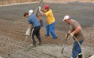 График набора прочности бетона – определение скорости гидратации раствора
