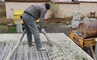 За какое время схватывается и сколько сохнет бетон